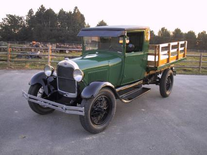 Ford on 1929 Ford Model Aa Stakebed Truck